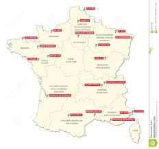 Nantes France Map by Map With The Twenty Clubs Of The First French Football League 2017