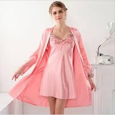 robe de chambre dentelle ob9532106 satin robe peignoir femmes pyjamas de nuit bain de robe