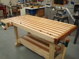 build woodworking bench vise