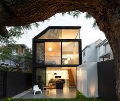 cosgriff house semi subterranean extension for backyard connection