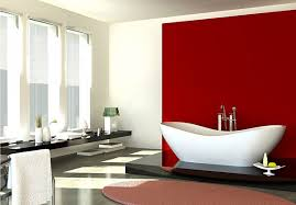 Red Bedroom Accent Wall - profit bathroom red accent wall in the hampedia