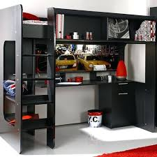 lit mezzanine avec bureau enfant lit mezzanine avec bureau integre idees armoire enfant 32 fly