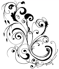 Clip Art Flowers Border - simple flower border designs to draw free download clip art