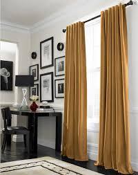 Gold Velvet Curtains Curtainworks Messina Opulent Velvet Lined Drapery Copycatchic