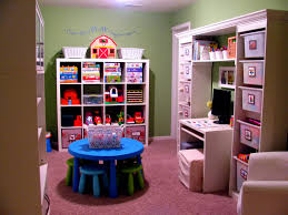Kid Playroom Furniture Entertainment U0026 Gym Simple Kids Playroom Storage Ideas With Wall