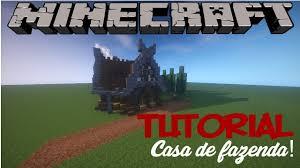 minecraft tutorial casa de fazenda medieval medieval farm