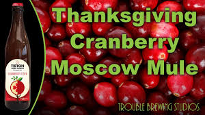 martha stewart thanksgiving cocktails thanksgiving cranberry moscow mule cocktail beer bros and the
