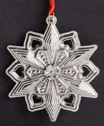 gorham snowflake ornament at replacements ltd