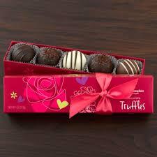 valentines chocolate valentines truffles send chocolate valentines day truffles
