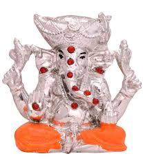 creative handicraft home decor lord ganesha pretty pooja idol in