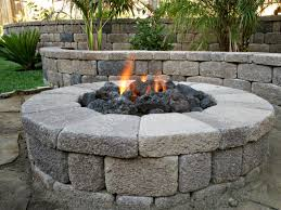 Firepit Kits by Outdoor Gas Fireplace Burner Designs Ideas And Decor