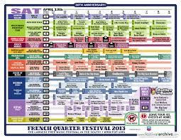New Orleans French Quarter Map French Quarter Festival 2014 Festival Archive