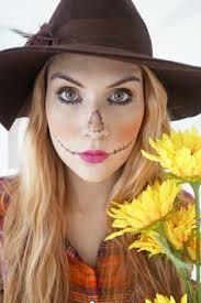 Womens Scarecrow Halloween Costume Scarecrow Makeup Scarecrow Makeup
