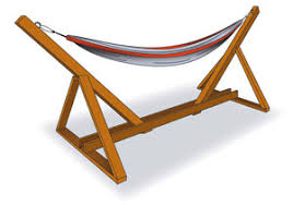 build your own hammock stand plans to make a hammock stand hen