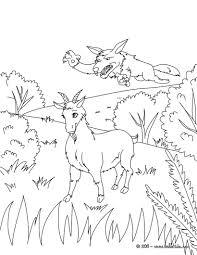 brave goat seguin coloring pages hellokids
