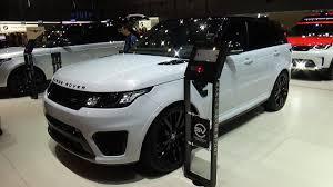 original range rover interior 2018 range rover sport svr exterior and interior geneva motor