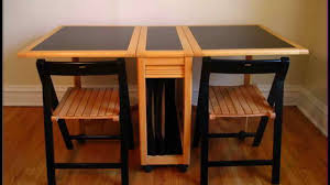 Folding Dining Table With Chairs Solid Wood Folding Dining Table Best Gallery Of Tables Furniture