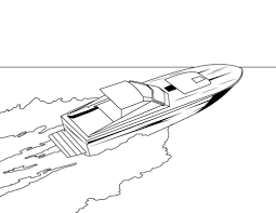 police boat coloring page kids drawing and coloring pages marisa