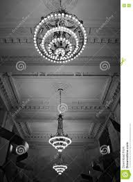 New Chandeliers by Chandeliers In Grand Central Station New York Stock Photo Image