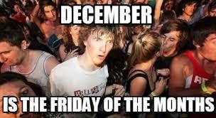 December Meme - december sudden clarity clarence meme on memegen