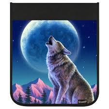 kidaroo wolf moon howl backpack flap