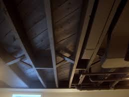 painting basement ceiling black block walls painting basement