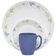 corelle dinnerware set 32 ebay