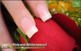 sns nail signature nail systems how to do pink u0026 white dipping