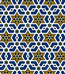 seamless islamic geometric pattern royalty free cliparts vectors