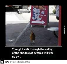 Kfc Chicken Meme - one giant step for chickens giant steps funny friday and funny