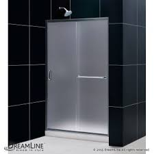 bathroom how to make stunning frosted shower door glass for your