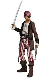 brown coat pirate costume for boys