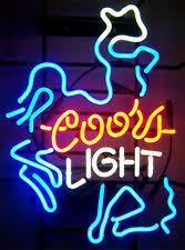vintage coors light neon sign 83 best neon beer signs images on pinterest neon beer