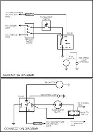 fan relay switch wiring diagram for electric radiator fan wiring