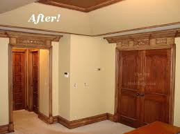 ceiling fan crown molding tray ceiling crown molding craftsman master bedroom with crown