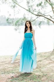 ombre dress thalia ombre maxi dress the graces