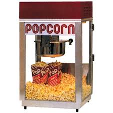 popcorn rental machine popcorn machine rental the party bazaar