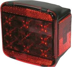 peterson pm m840 led stop and tail light without license light