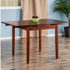 Small Square Kitchen Table by Extendable Square Kitchen Table Rich Walnut Finish Clean Lined