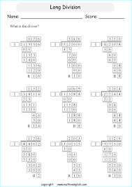 fill in the cells of these 4 digits by 2 digit long division