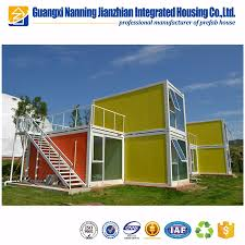 china made prefabricated 20ft 40ft standard size high quality