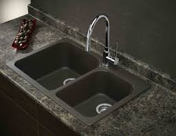 Composite Undermount Kitchen Sinks by Black Composite Granite Kitchen Sink Video And Photos