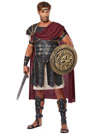 King Leonidas Costume Halloween Size Roman Gladiator Costume