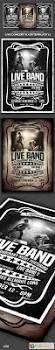 live concert flyer template v1 6107165 free download photoshop