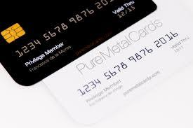 metal cards be unique