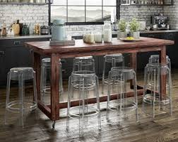 trestle table kitchen island rustic high bench table coma frique studio 901114d1776b