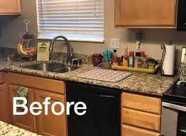 tiling kitchen backsplash a metallic tile stenciled kitchen backsplash stencil stories