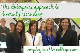 recruiting events target corporate how enterprise recruits and develops diverse new grad talent