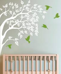 corner branch with brids and leaves wall sticker decal vinyl corner branch wall sticker in by vinyl impression