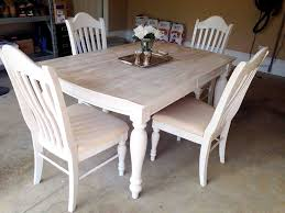 Painted Kitchen Tables 13 Gorgeous Ways To Bring Your Worn Kitchen Table Back To Life